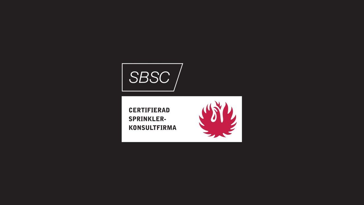 Första certifierade Sprinklerkonsultfirman enligt SBF 2016:1